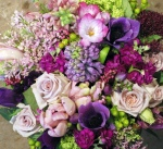 Jewel Toned Hand Tied Bouquet