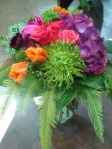 Tropical Colours Vase Arrangement